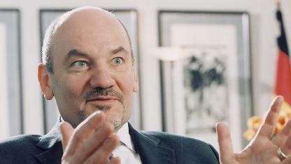 Der Präsident der Bundesnetzagentur Matthias Kurth