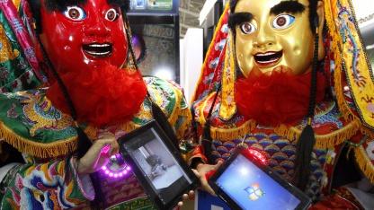 Elitegroups Elitepad-Tablet wird auf der Computex 2011 vorgestellt.