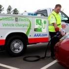 Gegen Reichweitenangst: US-Automobilverband stellt Ladefahrzeug vor