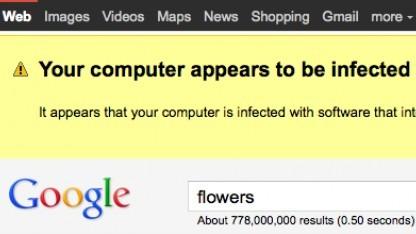 Warnung vor Schadsoftware in Googles Websuche