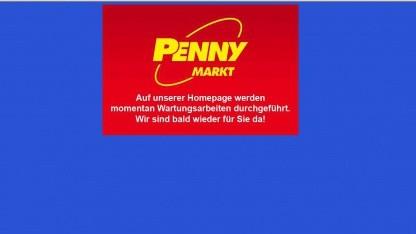Penny-Markt ist offline.