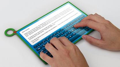 Robust genug für Abwurf aus dem Hubschrauber: OLPC-Bildungstablet XO-3