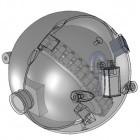 Kugelrund: MIT-Roboter soll Rohrleitungen in Atomkraftwerken prüfen