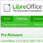 RC2 von Libreoffice 3.4.2 ist da: Libreoffice 3.3.4 kommt früher als geplant