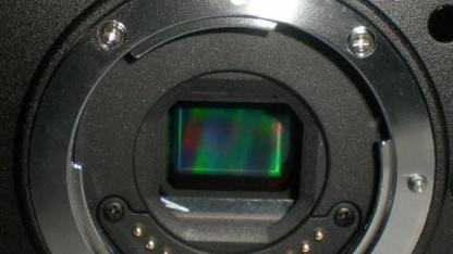 Potenzielle Nikon-EVIL-Kamera