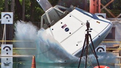 Nass: Nasa testet Wasserung der Raumkapsel Orion