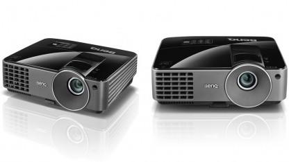 Benq MS500 (links) und MX501