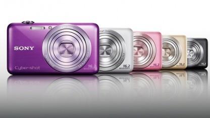 Sony Cybershot DSC-WX30 in mehreren Farben