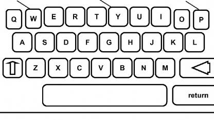 IBMs Morphing-Bildschirmtastatur