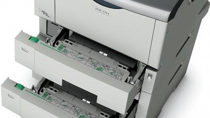 Aficio SP 4310N mit Papieroptionen