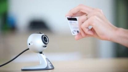 Netswipe: Die Webcam wird zum Kreditkartenleser.