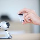Netswipe: Die Webcam liest die Kreditkarte aus