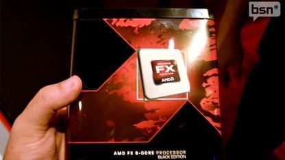 AMDs Einzelhandelsverpackung für FX-CPUs
