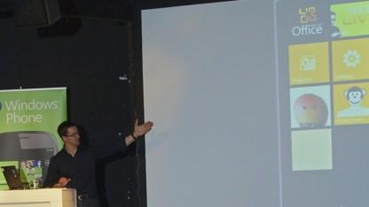 Vorstellung von Windows Phone 7 Mango im Mai 2011