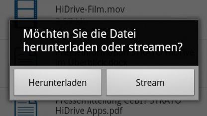 Hidrive-App 1.2.8 für Android ermöglicht auch Streamen