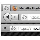 Oneliner für Firefox: Navigation und Tabs in einer Zeile