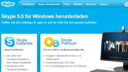 Neue Skypeversion hat Sicherheitslücken.