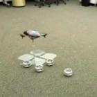 Khepera: Schwarmroboter formen Landeplattform für Flugroboter