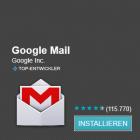 Android: Google Mail 2.3.5 schont den Akku
