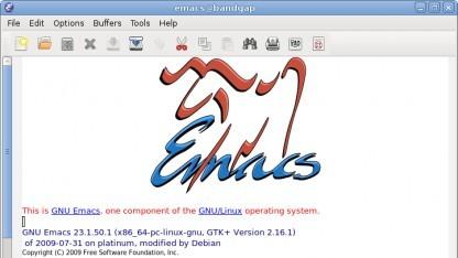 Emacs verwendet nun Git zur Versionskontrolle.