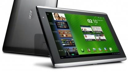 Android 3.1 für das Iconia Tab A500 ist da.