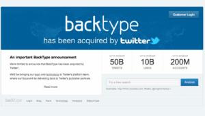 Echtzeitanalyse: Twitter kauft Backtype