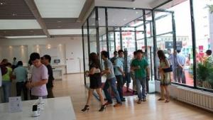 Eröffnung eines Cybermart-Apple-Ladens in Tianjin