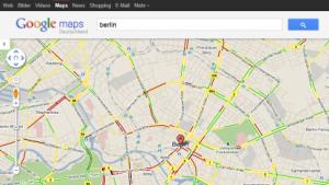 navigation google maps mit stauwarner f r deutschland. Black Bedroom Furniture Sets. Home Design Ideas