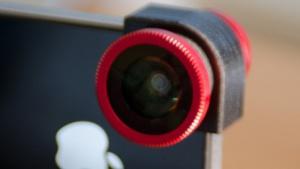 Aufsteckoptik: Drei Objektive in einem für das iPhone 4