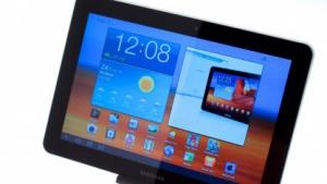 Samsungs Galaxy Tab 10.1 ist schlanker als das iPad 2.