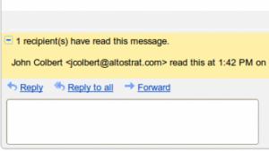 Google-Mail-Lesebestätigung