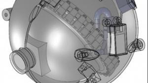 Kugelrunder Roboter soll in Atomkraftwerken tauchen.