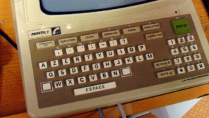 Konnte schon E-Commerce: Minitel-Terminal aus dem Jahr 1982