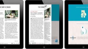 Flipboard: Lese-Software blendet Werbung ein.