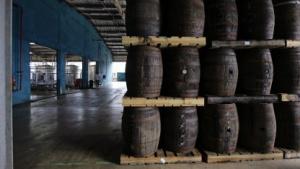 Havana Club Rum in San Jose de las Lajas im Oktober 2010.