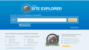 Open Site Explorer v3