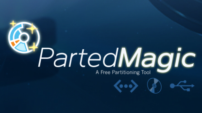 Parted Magic 6.4 läuft auf dem Linux-Kernel 3.0