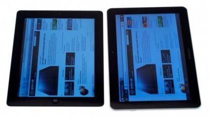 Tablet-Kontrahenten: iPad 2 und Galaxy Tab 10.1