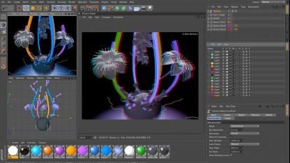 Cinema 4D R13 mit durchgängiger Stereoskopie-Unterstützung