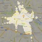 Mapnificent: Wie weit kommt man mit öffentlichen Verkehrsmitteln?