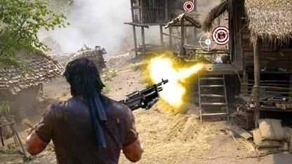 Älteres Rambo-Spiel für die Xbox 360