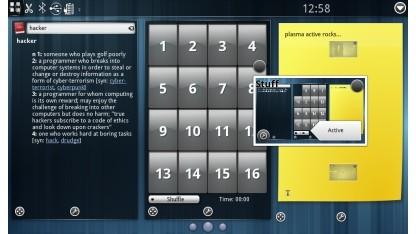 Plasma Active ist für den Einsatz auf mobilen Geräten gedacht.