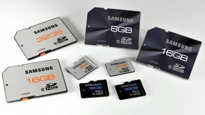 Übersicht über Samsungs Speicherkarten