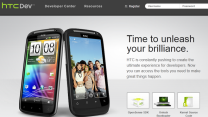 HTC startet HTCDev.