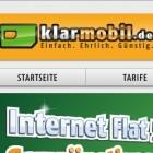 Klarmobils Prepaid-Datentarif ist keine Flatrate.