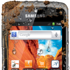 Samsung Galaxy Xcover: Gingerbread-Smartphone mit IP67-Zertifizierung