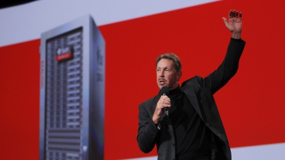 Oracle-Chef Larry Ellison im September 2010