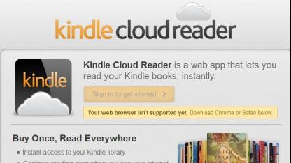 Kindle Cloud Reader: Kindle-App für Safari und Chrome