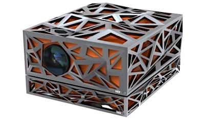 3D-Laserprojektor von HDI in extravagantem Gehäuse