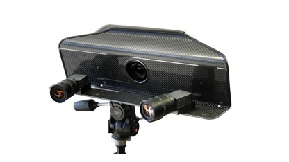 3D-Scanner mit zwei Kameras und einer DSLR
